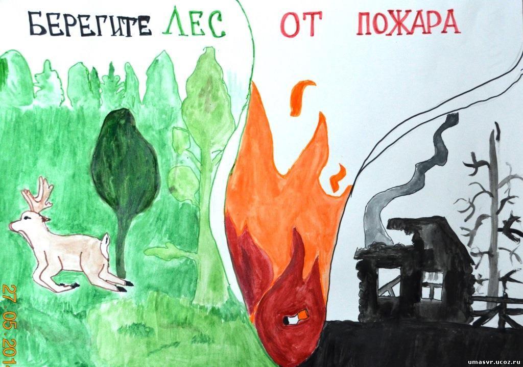 береги лес от пожара плакаты это время кобяков